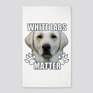 White labs matter Area Rug