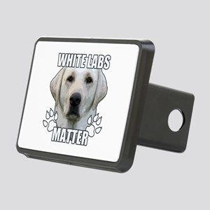 White labs matter Rectangular Hitch Cover