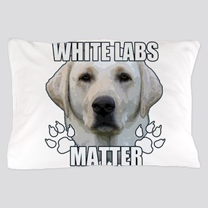 White labs matter Pillow Case