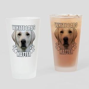White labs matter Drinking Glass