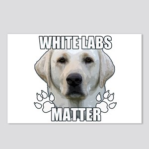 White labs matter Postcards (Package of 8)