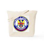 USS Emory S. Land (AS 39) Tote Bag