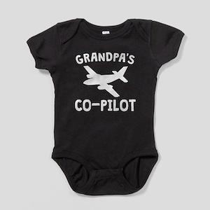 Grandpa's Co-Pilot Baby Bodysuit