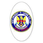 USS Emory S. Land (AS 39) Oval Sticker