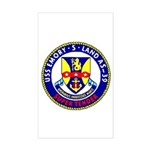 USS Emory S. Land (AS 39) Rectangle Sticker