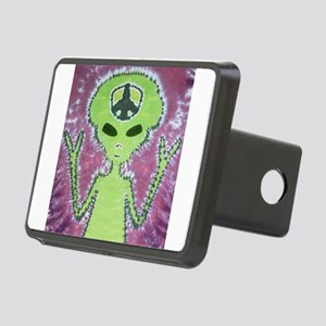 Alien Tie Dye Hitch Cover