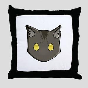 Chibi Greystripe Throw Pillow