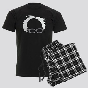 Bernie Sanders Hair Men's Dark Pajamas