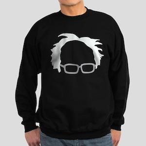 Bernie Sanders Hair Sweatshirt (dark)