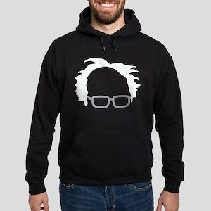 Bernie Sanders Hair Hoodie (dark)