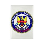 USS Emory S. Land (AS 39) Rectangle Magnet (100 pa