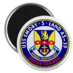 """USS Emory S. Land (AS 39) 2.25"""" Magnet (10 pack)"""