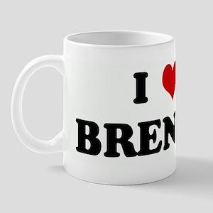 I Love BRENDA Mug