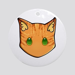 Chibi Firestar Round Ornament