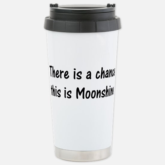 Chance its Moonshine Stainless Steel Travel Mug
