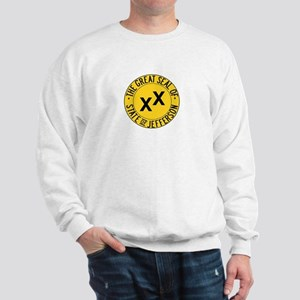 seal of the state of Jefferson Sweatshirt