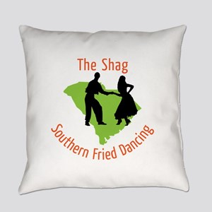 The Shag Southern Fried Dancing Everyday Pillow