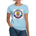 USS Emory S. Land (AS 39) Women's Light T-Shirt