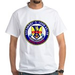 USS Emory S. Land (AS 39) White T-Shirt