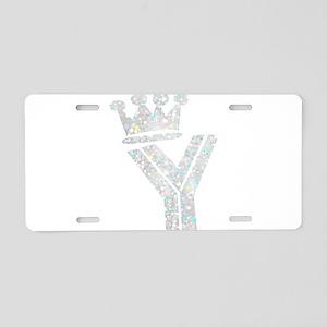 Y, Alfabeto Aluminum License Plate
