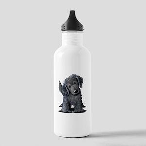 KiniArt Westie Rabbit Stainless Water Bottle 1.0L