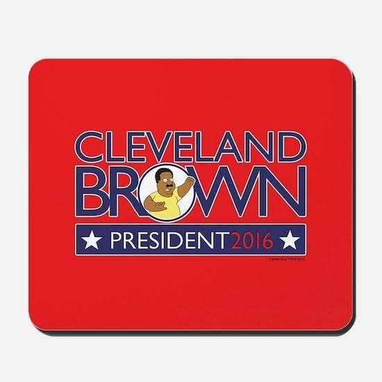 Family Guy Cleveland President 2016 Mousepad