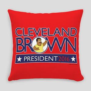 Family Guy Cleveland President 201 Everyday Pillow