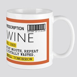 Wine Prescription Mugs