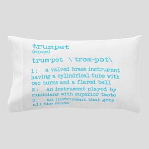 Trumpet Definition Bue Pillow Case