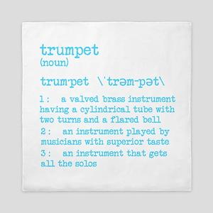 Trumpet Definition Bue Queen Duvet