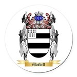 Maskell Round Car Magnet