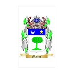 Masius Sticker (Rectangle 50 pk)