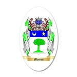 Masius 35x21 Oval Wall Decal
