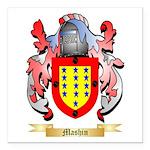Mashin Square Car Magnet 3
