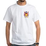 Mashikhin White T-Shirt