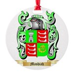 Mashiah Round Ornament