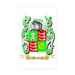 Mashiah Sticker (Rectangle 50 pk)