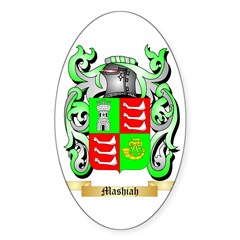 Mashiah Sticker (Oval 50 pk)