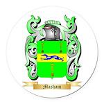 Masham Round Car Magnet