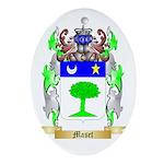 Maset Oval Ornament
