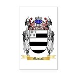 Mascall Rectangle Car Magnet