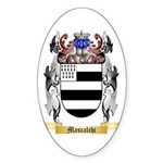 Mascalchi Sticker (Oval 50 pk)