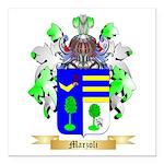 Marzoli Square Car Magnet 3