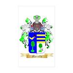 Marzello Sticker (Rectangle 50 pk)