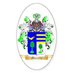Marzello Sticker (Oval 50 pk)