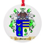Marzec Round Ornament