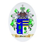 Marzec Oval Ornament