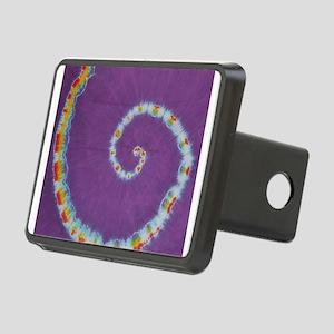 Scorpion Tail Swirl Tie-Dye Hitch Cover