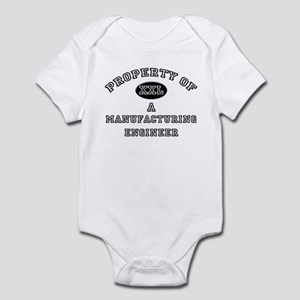 Property of a Manufacturing Engineer Infant Bodysu