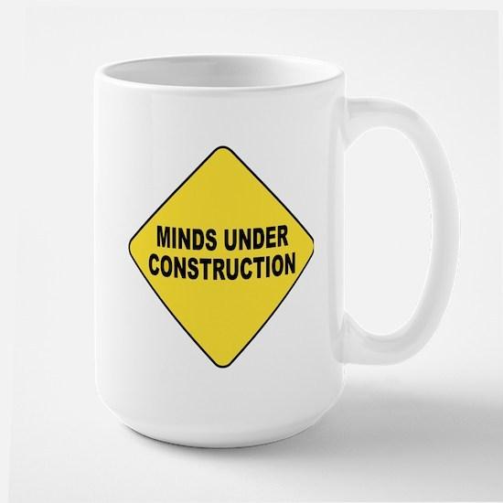 MIND UNDER CONSTRUCTION Mugs